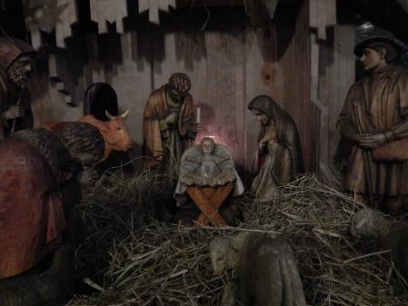 Krippenszene in Christus König Husum AD 2014-15